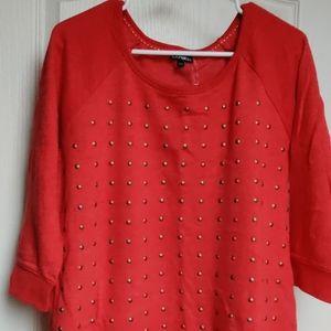 Express sweatshirt top